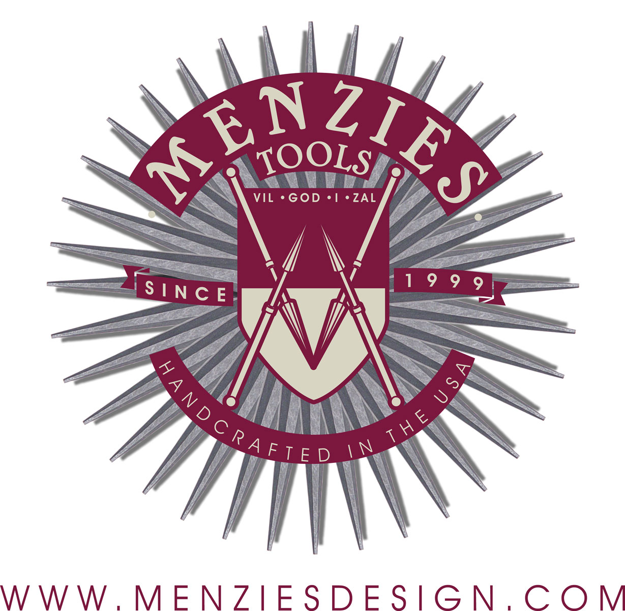 Menzies Tool Ad and Logo