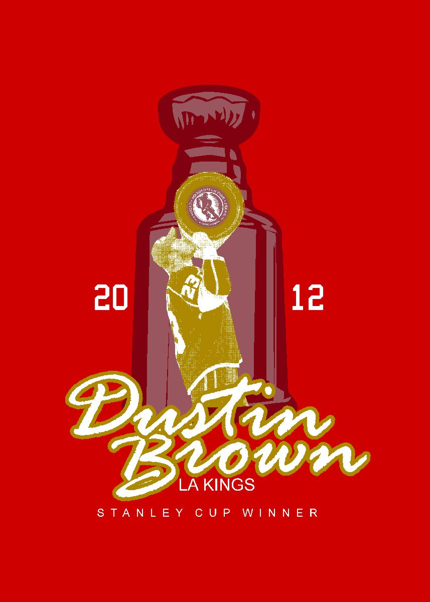 Dustin Brown Commemorative Design