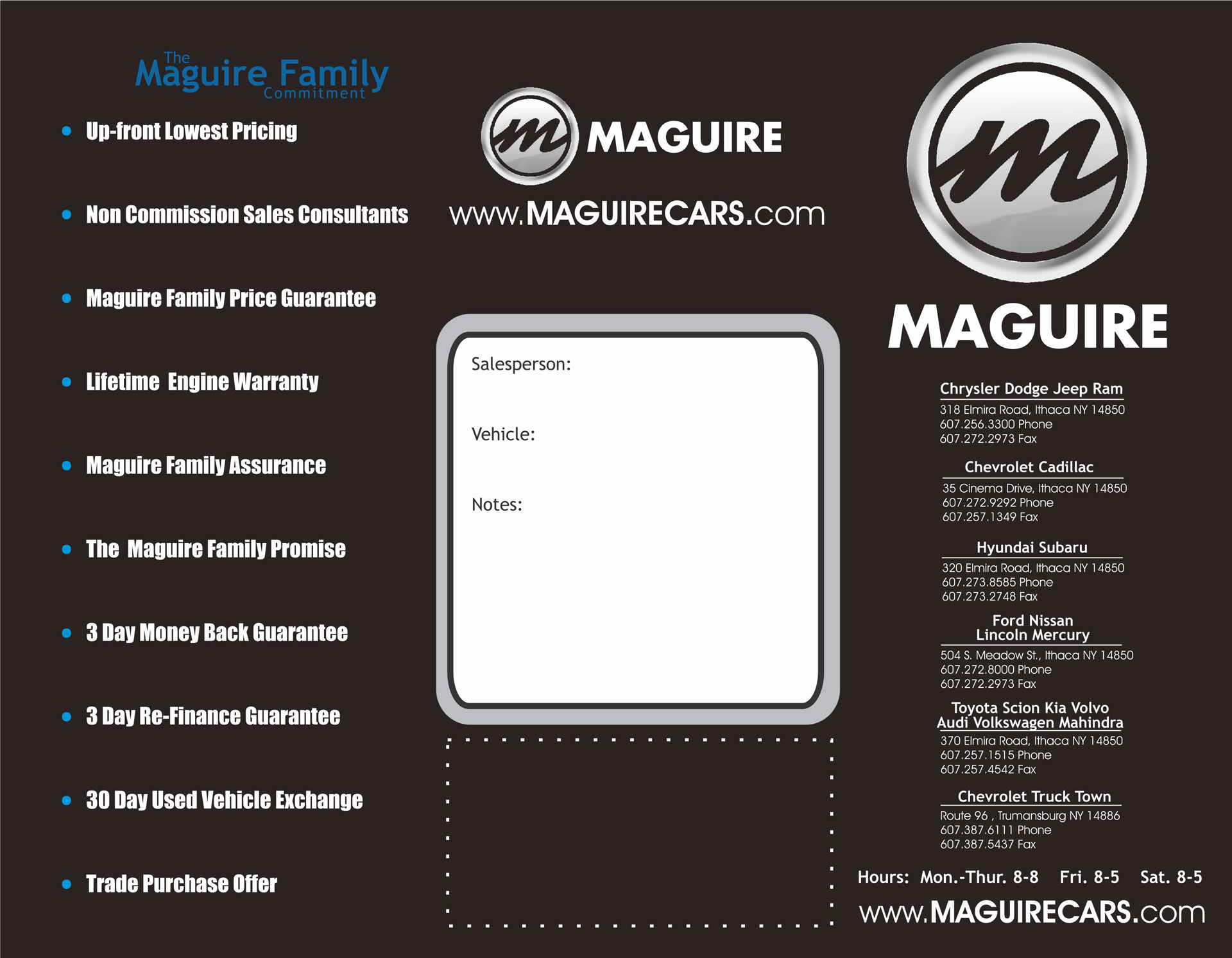 Maguire Walk-away Brochure