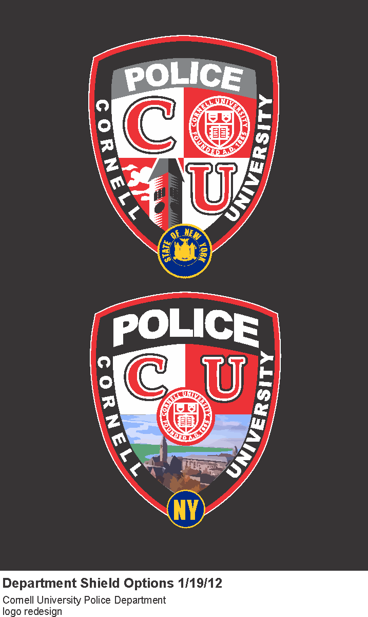 Cornell University Police Badge Design