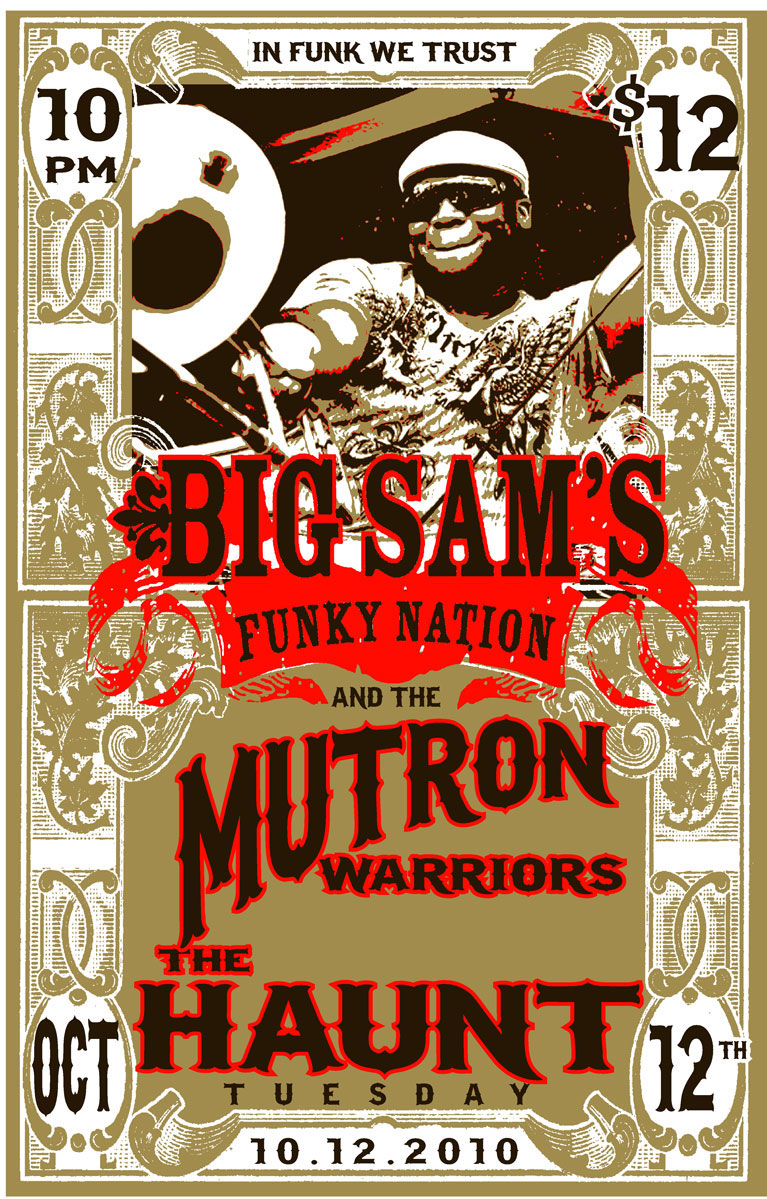 Mutron Warriors and Big Sam's Funky Nation
