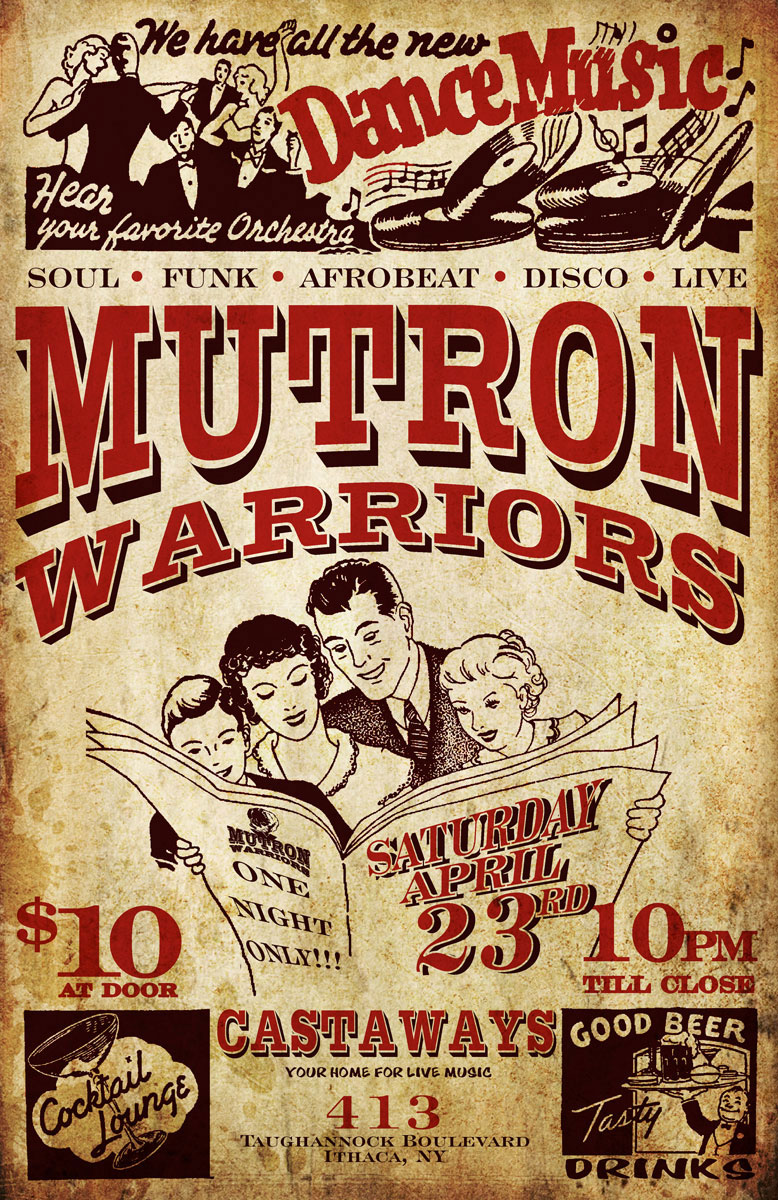 Mutron Warriors The Nines